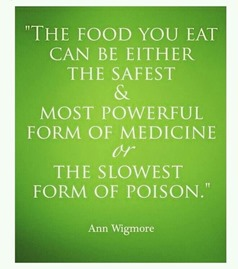 Food - Powerful Medicine or Slow Poison